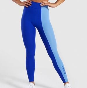 Gymshark Duo Two Toned Blue Leggings